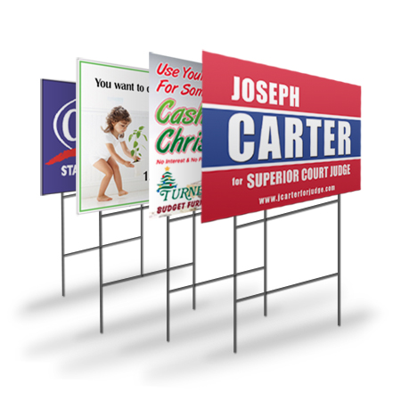 yard sign printer chester county